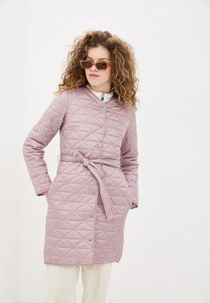 Куртка утепленная Снежная Королева. Цвет: розовый