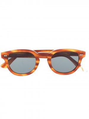 Солнцезащитные очки в квадратной оправе Waiting For The Sun. Цвет: коричневый
