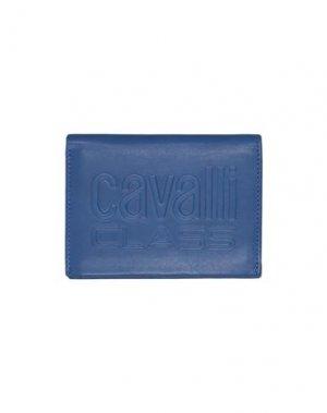 Бумажник CAVALLI CLASS. Цвет: синий