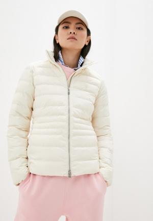 Куртка утепленная Polo Ralph Lauren. Цвет: бежевый