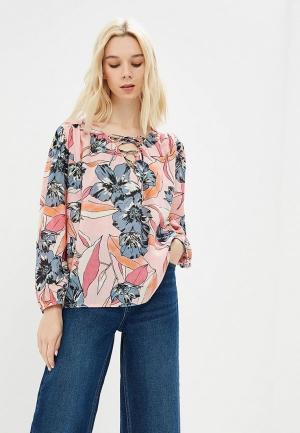 Блуза Billabong NEVER WAKE UP. Цвет: розовый