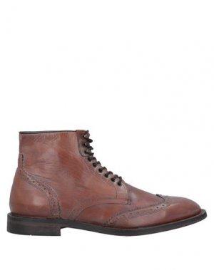 Полусапоги и высокие ботинки HUDSON. Цвет: коричневый