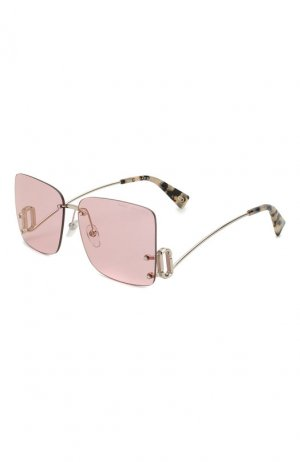 Солнцезащитные очки MARC JACOBS (THE). Цвет: розовый