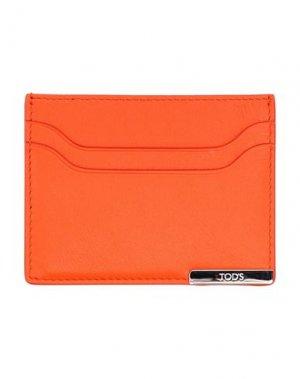 Чехол для документов TOD'S. Цвет: оранжевый