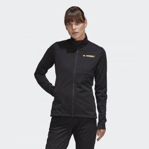 Куртка для беговых лыж Terrex Agravic Soft Shell adidas. Цвет: черный