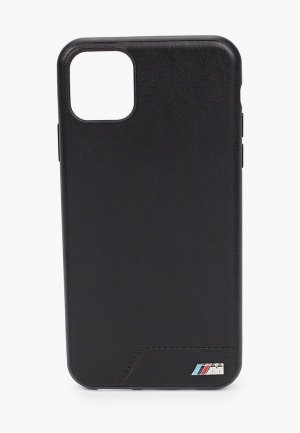 Чехол для iPhone BMW 11 Pro Max, M-Collection Smooth PU Black. Цвет: черный