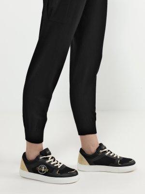 Кеды Trussardi Jeans. Цвет: chernyy