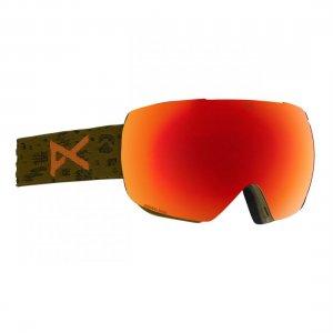 Маска сноубордическая MIG MFI Anon. Цвет: оранжевый
