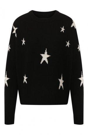 Кашемировый пуловер Zadig&Voltaire. Цвет: черный