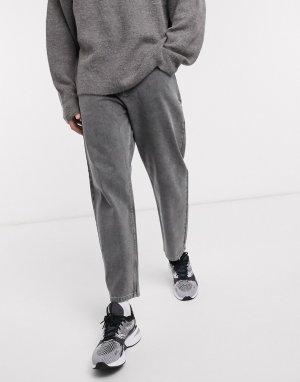 Черные зауженные джинсы -Черный ASOS DESIGN