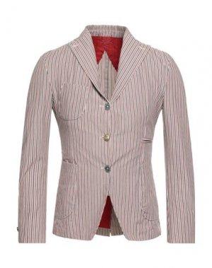 Пиджак JOHN SHEEP. Цвет: красный