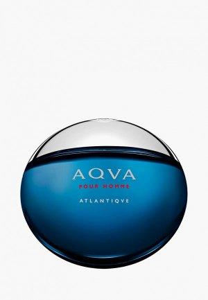 Туалетная вода Bvlgari Aqva Atlantiqve, 100 мл. Цвет: синий