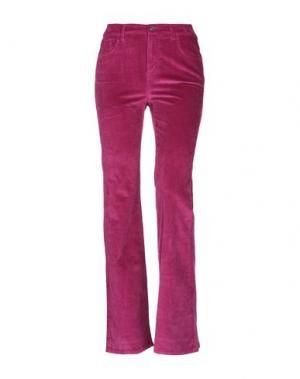 Повседневные брюки CURRENT/ELLIOTT. Цвет: розовато-лиловый