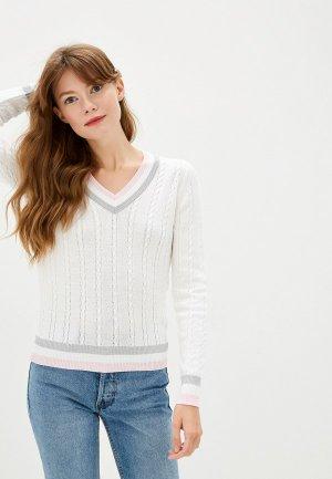 Пуловер Maria Velada. Цвет: белый