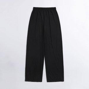Сетчатые пляжные брюки SHEIN. Цвет: чёрный