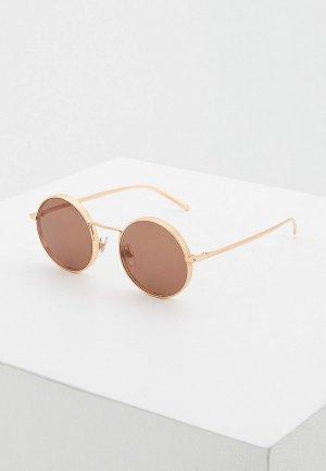Очки солнцезащитные Dolce&Gabbana 0DG2246 129808. Цвет: золотой