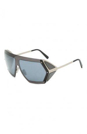Солнцезащитные очки Philipp Plein. Цвет: синий