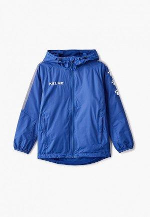 Ветровка Kelme Windproof Rain Jacket. Цвет: синий