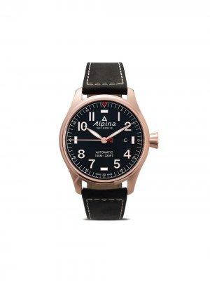 Наручные часы Startimer Pilot Chronograph 44 мм Alpina. Цвет: blue