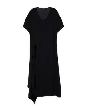 Платье до колена JNBY. Цвет: черный