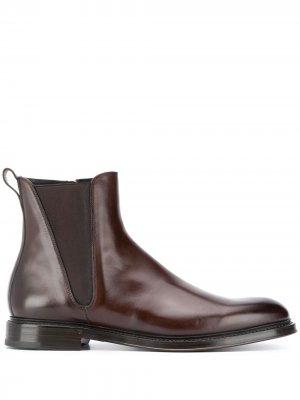 Ботинки челси Dolce & Gabbana. Цвет: коричневый