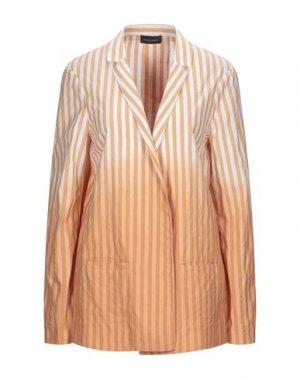 Пиджак ROBERTO COLLINA. Цвет: оранжевый