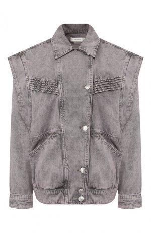 Джинсовая куртка Isabel Marant Etoile. Цвет: бежевый
