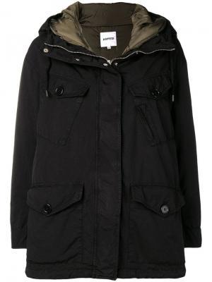 Пальто с капюшоном Aspesi