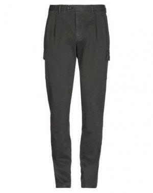 Повседневные брюки HISTORIC. Цвет: темно-коричневый