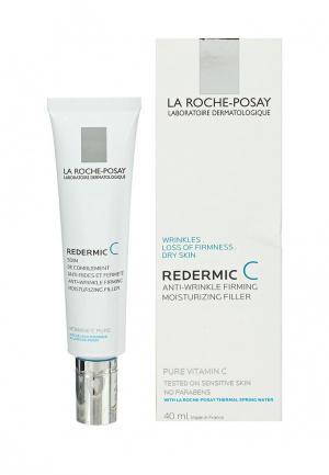 Крем для лица La Roche-Posay REDERMIC C, сухой кожи, 40 мл. Цвет: белый