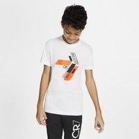Игровая футболка для школьников CR7 - Белый Nike