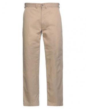 Повседневные брюки DOCKERS. Цвет: песочный
