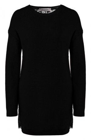 Пуловер Valentino. Цвет: черный