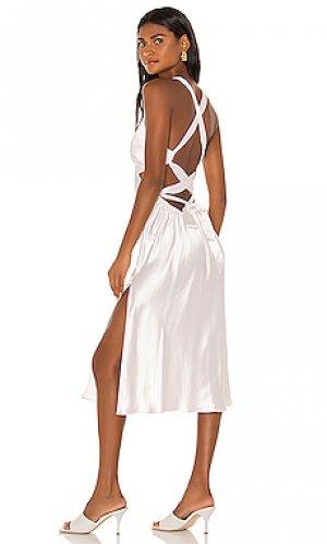 Розовое платье etta LPA. Цвет: ivory, blush