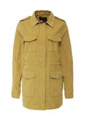 Куртка Vila. Цвет: коричневый