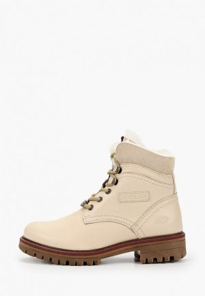 Ботинки Dockers by Gerli. Цвет: бежевый