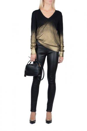 Пуловер Versace Collection. Цвет: черный