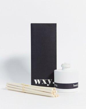 Диффузор с ароматом пачули и конопли . Haze., 100 мл-Бесцветный WXY