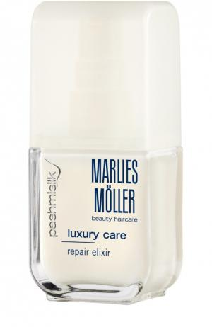 Восстанавливающая сыворотка для кончиков волос Marlies Moller. Цвет: бесцветный