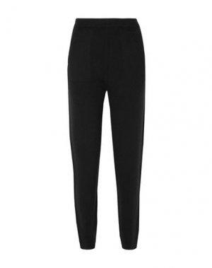 Повседневные брюки ALLUDE. Цвет: черный