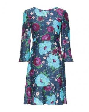 Короткое платье MAX & CO.. Цвет: грифельно-синий