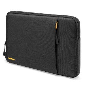 13-дюймовая сумка для ноутбука SHEIN. Цвет: чёрный