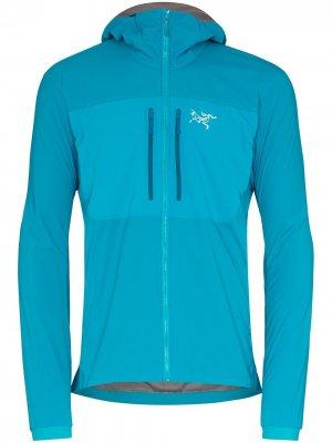 Arcteryx куртка Proton FL с капюшоном Arc'teryx. Цвет: синий