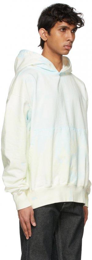 Multicolor Tie-Dye Giza Suvin Hoodie Kuro. Цвет: blue mix