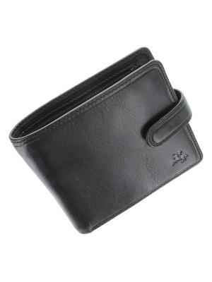 Бумажник Massa Visconti. Цвет: черный