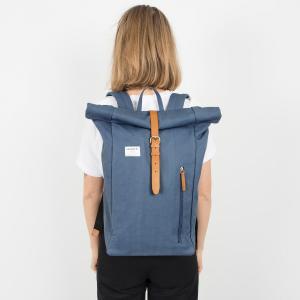 Рюкзак специально для ноутбука 15 дюймов, 18 л, DANTE SANDQVIST. Цвет: синий