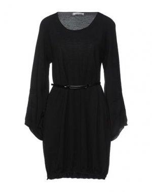 Короткое платье D.EXTERIOR. Цвет: черный