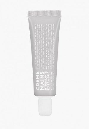 Крем для рук Compagnie de Provence увлажняющий Цветы Хлопка/Cotton Flower 30 ml. Цвет: прозрачный
