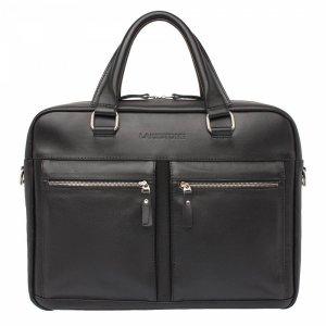 Деловая сумка для ноутбука Colston Black