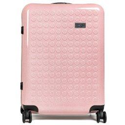 Чемодан 34125PC розовый DOT-DROPS